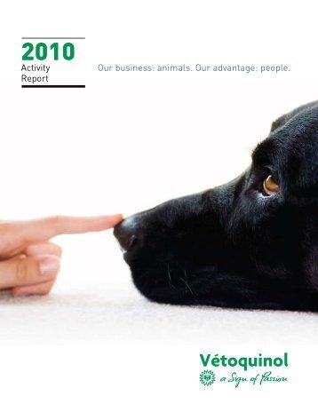 2010 Activity Report - Vétoquinol