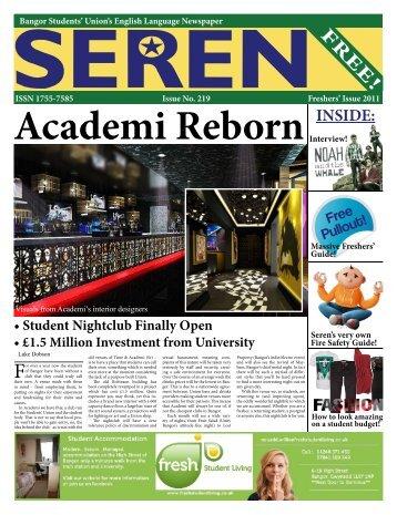 3d Sket ch mode l - Seren - Bangor University