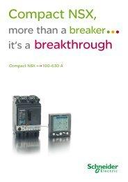 Compact NSX - 100-630A (pdf 1.2Mb) - Schneider Electric