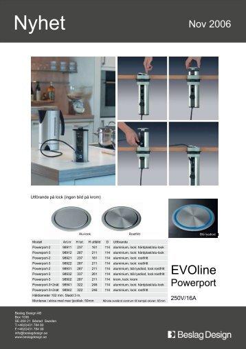 EVOline - Kompanjonen
