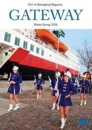 Port of Helsingborg Magazine Winter/Spring 2006 - Helsingborgs ...