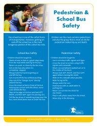 Pedestrian & School Bus Safety