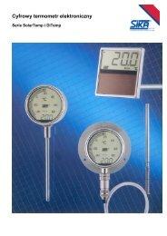 Termometry elektroniczne - TECHNICON Sp. z oo