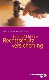 Info, warum Rechtsschutz
