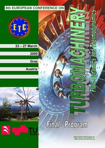 8th EUROPEAN CONFERENCE ON - TTM - Graz University of ...