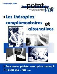 Les thérapies complémentaires alternatives - Portail VIH / sida du ...