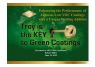 Troysol LAC - Quartz Presentations Online