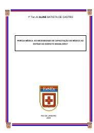 perícia médica - Escola de Saúde do Exército
