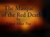 The Masque of the Red Death - Penn State University