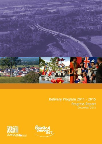 Delivery Program 2011 - Liverpool City Council