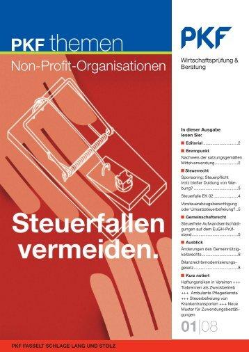 Non-Profit-Organisationen - PKF