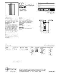 LFo-LED-002 - Prescolite