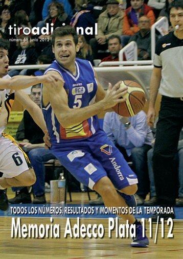 Memoria Adecco Plata 2011/12 - Federación Española de Baloncesto