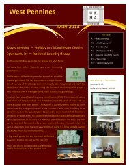 May 2013 - UK Housekeepers Association
