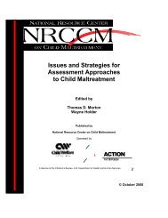 Issues and Strategies for Assessment Approaches to Child ...