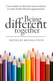 Being Different Together - Vula - University of Cape Town