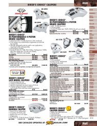Brake - Harley-Davidson® Parts and Accessories