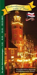 Wiehnachtsmarkt achter d' Waag - Schipper Klottje