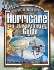 Hurricane Planning Guide - City of Boca Raton