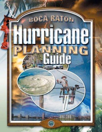 Hurricane Planning Guide - City of Boca Raton