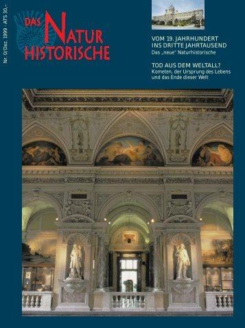 896.Das Naturhistorische - Dezember 1999 - Naturhistorisches ...