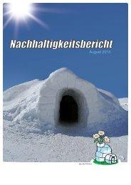 Nachhaltigkeitsbericht 2013/14 lang (pdf) - im Iglu-Dorf