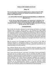 RESOLUCIÓN NÚMERO 04 DE 2007 (Mayo 18) Por la cual se ... - IDU