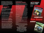 download a PDF of our 2013 Media Kit - Tow Times Magazine Online