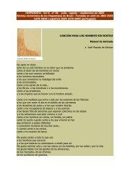 Canción para los hombres sin rostro - Revista Hispanista