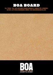 BOA BOARD - Bygghemma