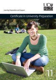 Certificate in University Preparation - University of Canterbury