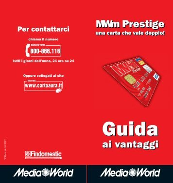 Guida MW Prestige