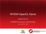 NVIDIA OpenCL Demo