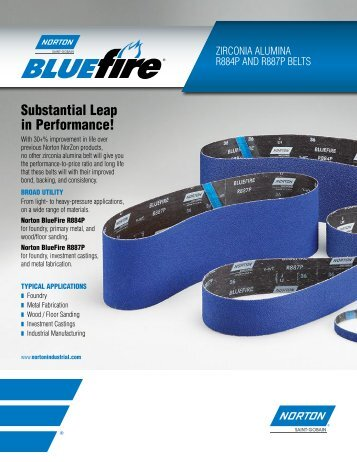 Belts - BlueFire - R884P and R887P - Norton