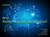 O Sistema RFID - Unisinos