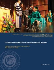 Disabled Student Programs and Services Report - California ...