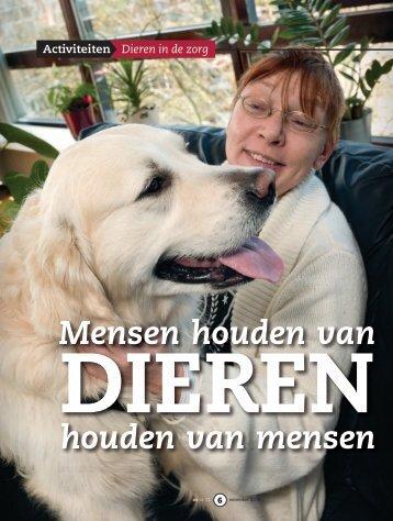 Mensen houden van Dieren houden van mensen - Stichting ...