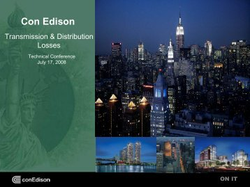 Transmission & Distribution Losses - New York State Public Service ...