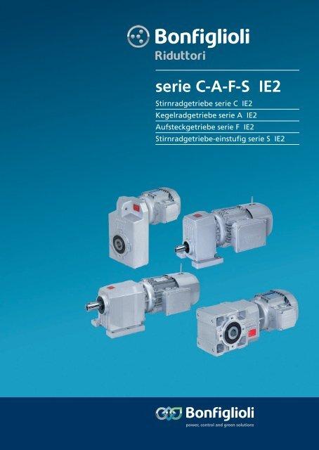 serie C-A-F-S IE2 - Bonfiglioli