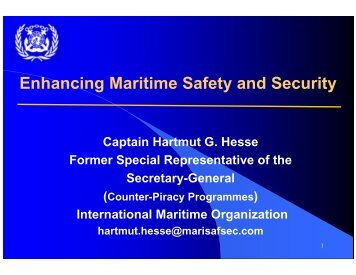 Annex B - Enhancing Maritime Safety and Security.pdf - ASEAN ...