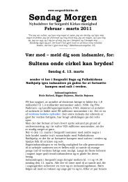 Søndag Morgen, februar-marts 2011.doc - Sorgenfri Kirke