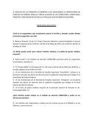 Seguros de Gastos Médicos Mayores, Preguntas Frecuentes - UNAM