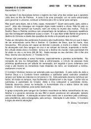 ANO 108 Nº 16 18.04.2010 - Comunidade Evangélica Luterana ...