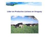 Lider en Lácteos en Uruguay