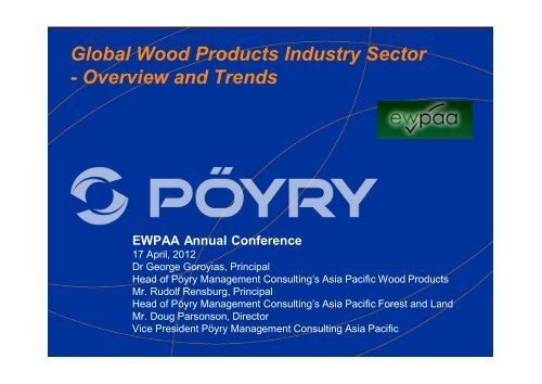 Global Wood Products Industry Sector - Overview and Trends