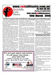 2013 03 12 Edition 386.pmd - Redcliffe City News