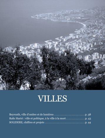 Dossier Beyrouth, ville d'ombre et de lumière - Euromedina