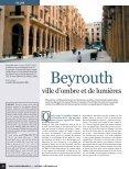 Dossier Beyrouth, ville d'ombre et de lumière - Euromedina - Page 2