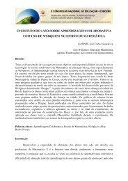 um estudo de caso sobre aprendizagem colaborativa com uso de ...