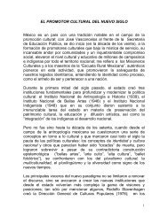 EL PROMOTOR CULTURAL DEL NUEVO SIGLO México es un país ...